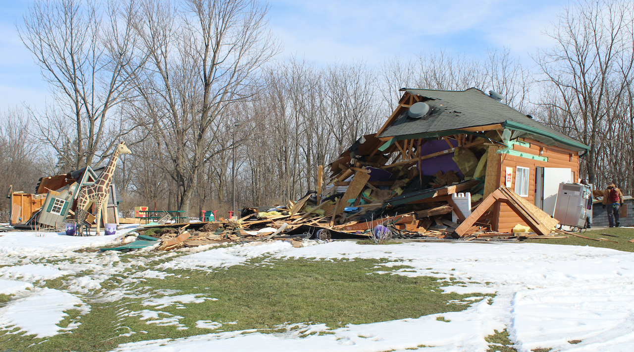 """Cayuga Nation issues its own permits """"in deference to Seneca Falls community,"""" claiming sovereignty while clearing self-made debris"""