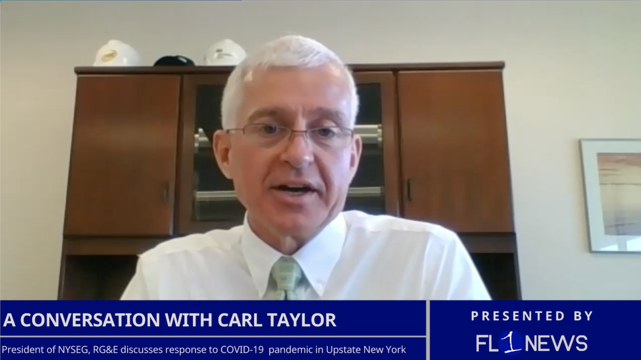 NEW AT 3 PM: NYSEG, RG&E President Carl Taylor talks pandemic response, operations in Upstate New York (podcast)