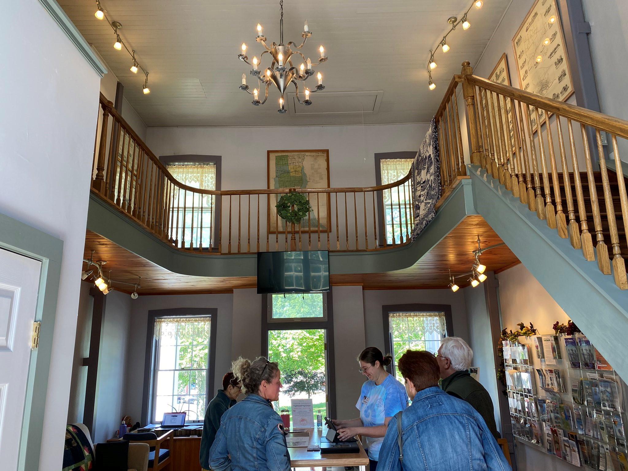 Mama Bear serves as historic landmark, tour guide for Seneca County's histo