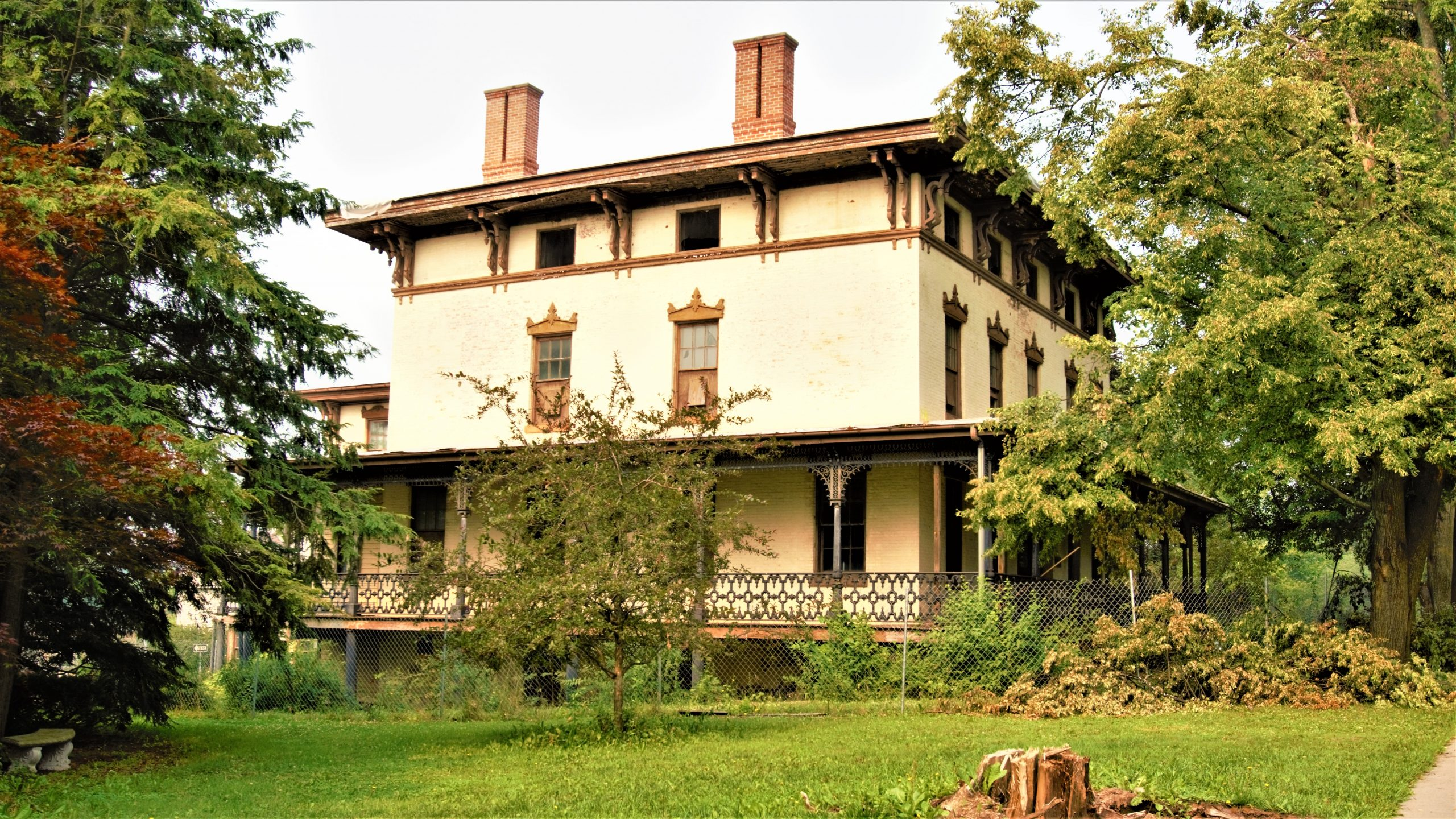 Friends of Parrott Hall works diligently at bringing the building back to its former glory