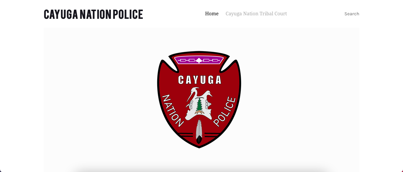 Cayuga Nation Police Department doesn't have any cross deputation agreements in place, state says